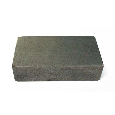 Stalen blok 100 x 80 x 30mm