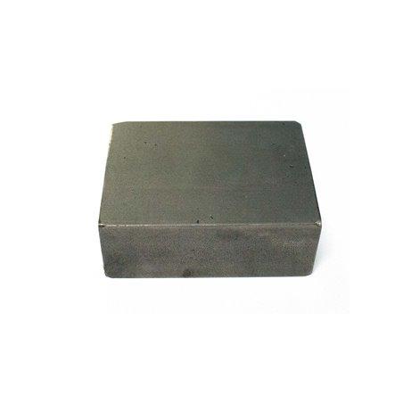 Stalen blok 100 x 100 x 30mm
