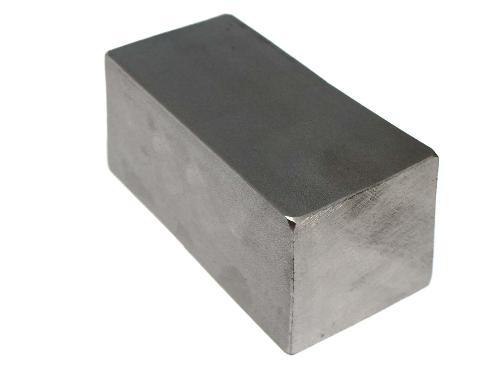 Stalen blok 60 x 60 x 150mm