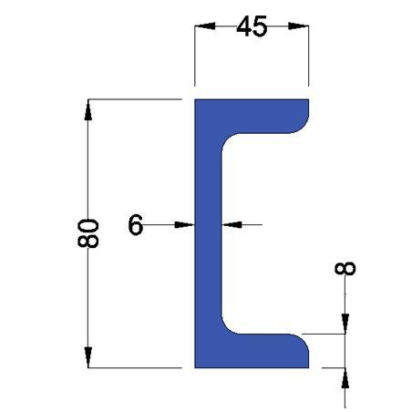 UNP80 constructiebalk