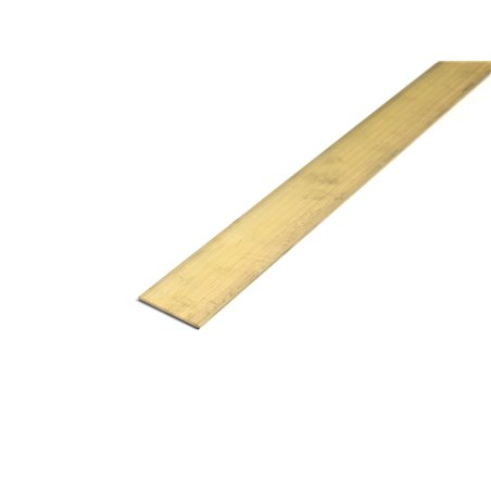 Messing strip 20x4mm