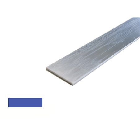 aluminium strip 25 x 10mm