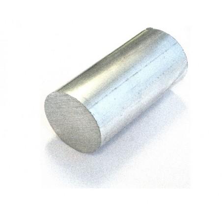 aluminium blok rond 50mm, 100mm lang