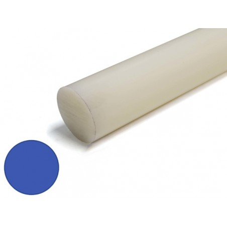 nylon massief rond 40mm, lengte 1000mm