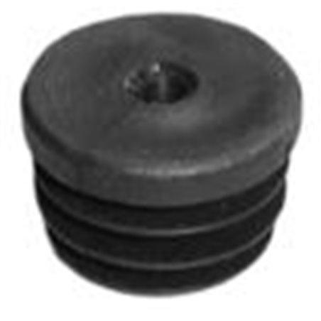 ronde insteekdop 25mm met draad M8