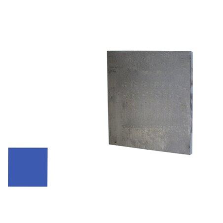 Eindplaat vierkant 80x80x4 mm