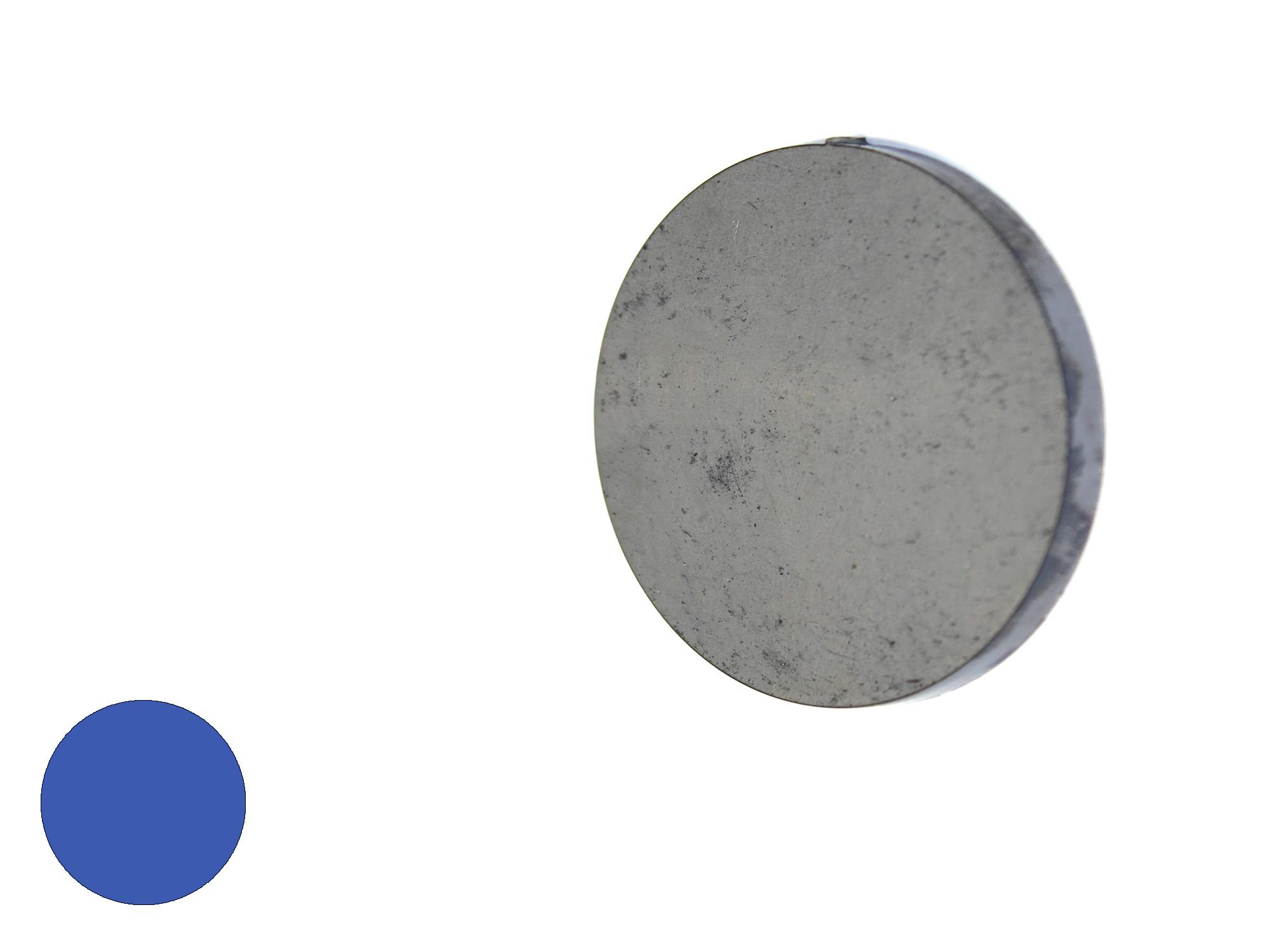 eindplaat rond 20 x 4mm