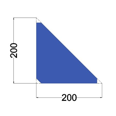 schoor 200x200x8mm