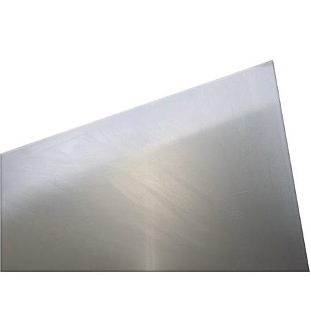 plaat aluminium 1000 x 500 x 4,0mm