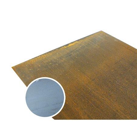 corten staal 500 x 1000 x 3mm