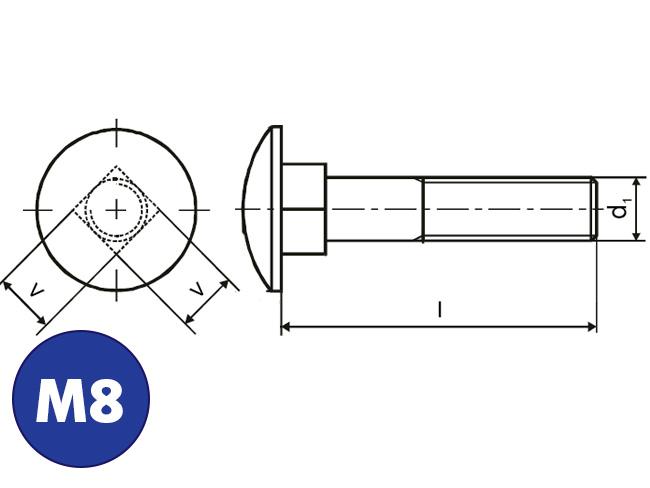 Slotbouten M8, Online bestellen: IJZERSHOP