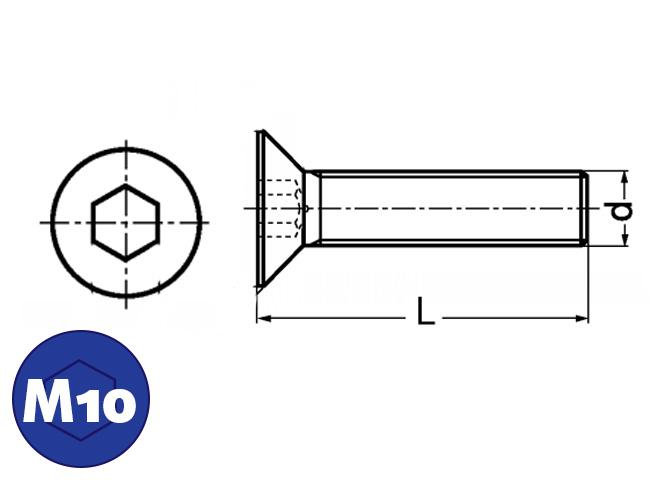 Verzonkenkopbout M10, Online bestellen: IJZERSHOP