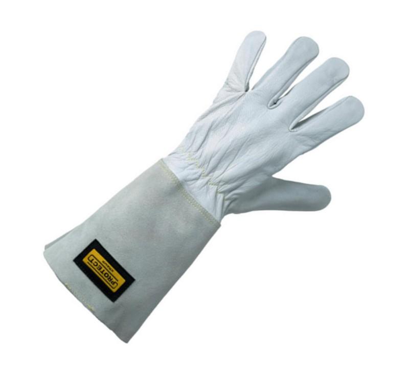 Las handschoenen van de IJzershop