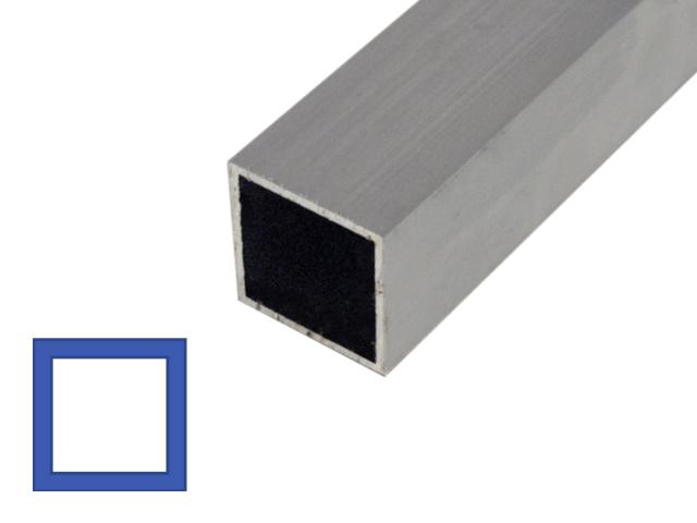 Aluminium|Vierkante koker Online bestellen | €7,75 transportkosten