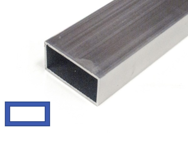 Aluminium Rechthoek Kokel,  Al vanaf 6,85 incl Btw. IJZERSHOP