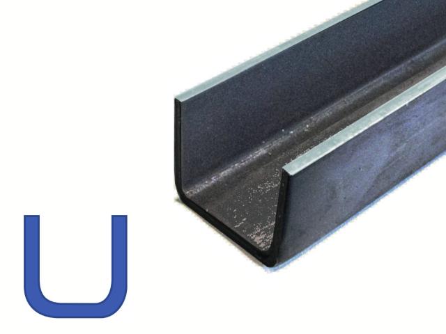 Stalen U-Profiel - Metalen profielen Online bestellen - IJZERSHOP