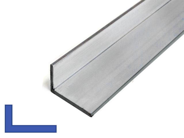 Aluminium L-profiel ongelijk,  Al vanaf 7,26 incl Btw. IJZERSHOP